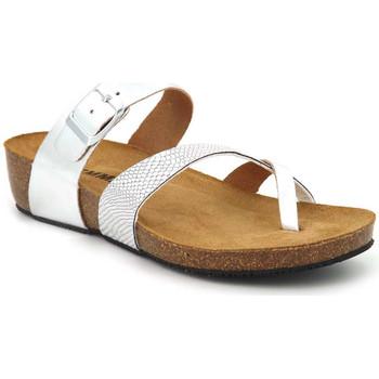 Chaussures Femme Sandales et Nu-pieds Emma Shoes 8966 Boa Argenté