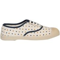 Chaussures Femme Tennis Bensimon POIS JACQUARD Blanc