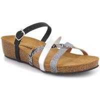 Chaussures Femme Sandales et Nu-pieds Emma Shoes 8956 Combi Noir