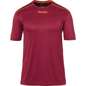 Vêtements Garçon T-shirts manches courtes Kempa Maillot  Poly rouge