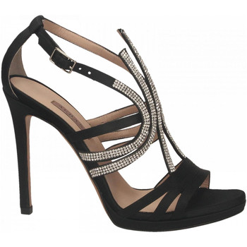 Chaussures Femme Sandales et Nu-pieds Albano RASO CRYSTAL nero