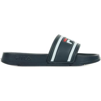 Chaussures Claquettes Fila Morro Bay Slipper JR bleu