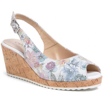 Chaussures Femme Sandales et Nu-pieds Caprice 28705 blanc