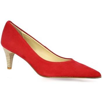 Chaussures Femme Escarpins Elizabeth Stuart Escarpins cuir velours Cerise