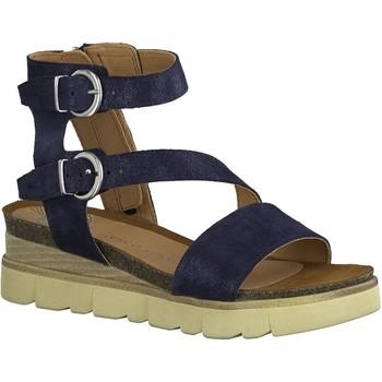 Chaussures Femme Sandales et Nu-pieds Marco Tozzi SABRINA Bleu