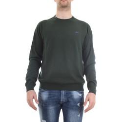 Vêtements Homme Pulls Sun68 K30101 Pull homme Vert Vert