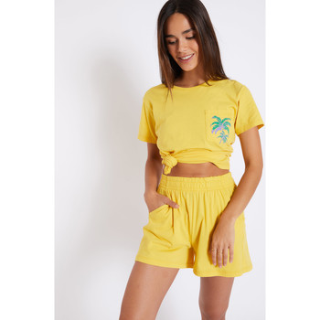 Vêtements Femme Shorts / Bermudas Banana Moon JUDIES ACADEMY JAUNE
