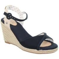 Chaussures Femme Sandales et Nu-pieds Pepe jeans Compensées  ref_49238 Marine Bleu