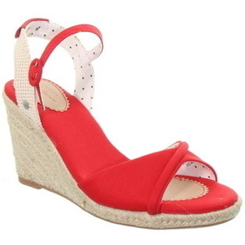 Chaussures Femme Sandales et Nu-pieds Pepe jeans Compensées  ref_49237 Rouge Rouge