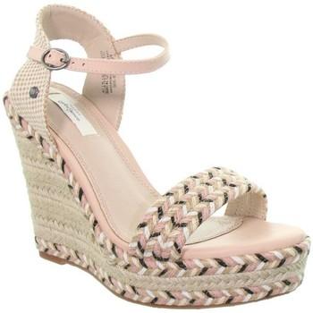 Chaussures Femme Sandales et Nu-pieds Pepe jeans Compensées  ref_49241 Nude Rose