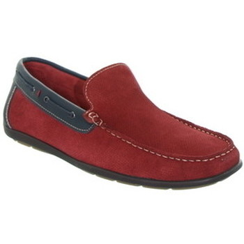 Chaussures Homme Mocassins Tucs Mocassins  ref_49188 Rouge Rouge