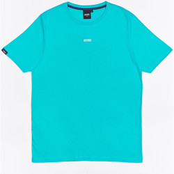Vêtements Garçon T-shirts manches courtes Wrung T-shirt  Caution Reload bleu turquoise/bleu