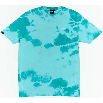 Vêtements Garçon T-shirts manches courtes Wrung T-shirt  New Sign bleu turquoise/blanc/noir
