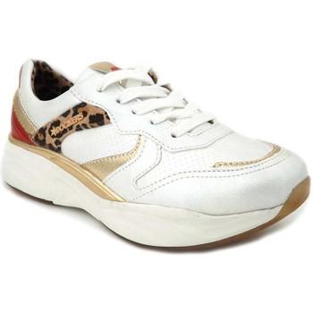 Chaussures Femme Baskets basses Dockers by Gerli 46 CV 202 Blanc