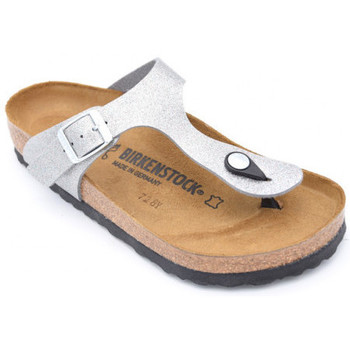 Chaussures Femme Tongs Birkenstock gizeh Argenté