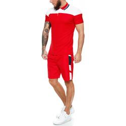 Vêtements Homme Ensembles de survêtement Monsieurmode Ensemble polo, maillot de bain Ensemble 125 rouge Rouge
