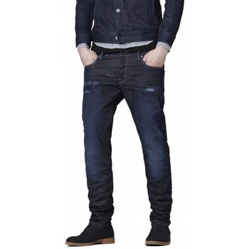 Jeans G-Star Raw Jean  3301 Low Tapered Bicc Denim Dk Aged