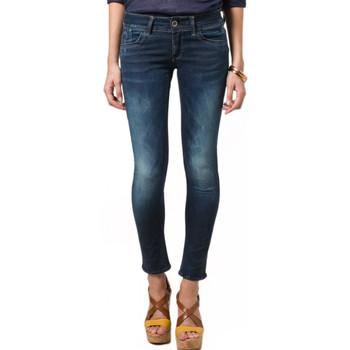 Vêtements Femme Jeans slim G-Star Raw Jean  Lynn Skinny Relish Superstretch Dk Aged Bleu