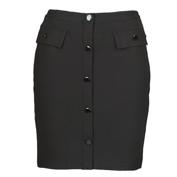 Vêtements Femme Jupes Guess ILARIA MINI SKIRT Noir