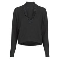 Vêtements Femme Pulls Guess FATIMA TURTLE Noir