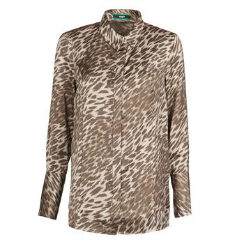Vêtements Femme Tops / Blouses Guess VIVIAN Leopard