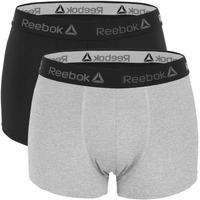 Sous-vêtements Homme Boxers Reebok Sport BASICX2 Noir