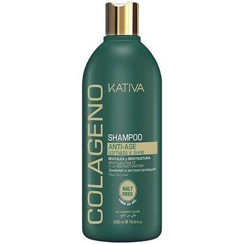 Beauté Femme Shampooings Kativa Colágeno Shampoo  500 ml