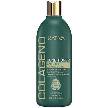 Beauté Femme Soins & Après-shampooing Kativa Colágeno Conditioner  500 ml