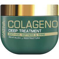Beauté Femme Shampooings Kativa Colágeno Deep Treatment  500 ml