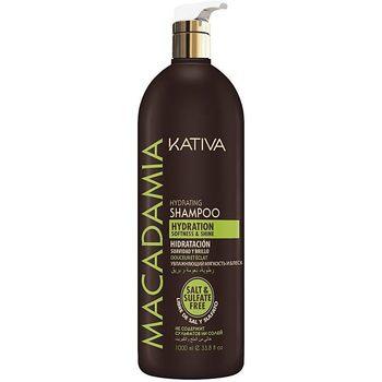 Beauté Femme Shampooings Kativa Macadamia Hydrating Shampoo  1000 ml