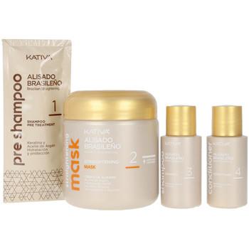 Beauté Soins & Après-shampooing Kativa Alisado Brasileño Profesional Coffret 6 Pz 6 u