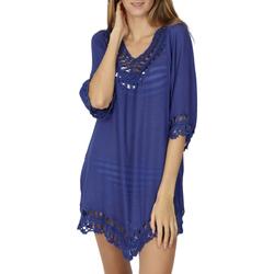 Vêtements Femme Tuniques Admas Tunique de plage Ibiza Bleu