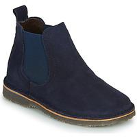 Chaussures Fille Boots Citrouille et Compagnie HOVETTE Marine