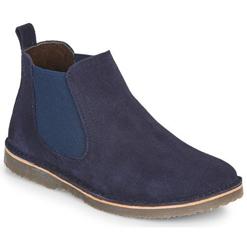 Chaussures Enfant Boots Citrouille et Compagnie HOVETTE Marine