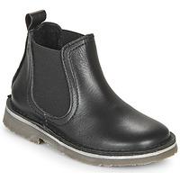 Chaussures Enfant Boots Citrouille et Compagnie HOVETTE Noir