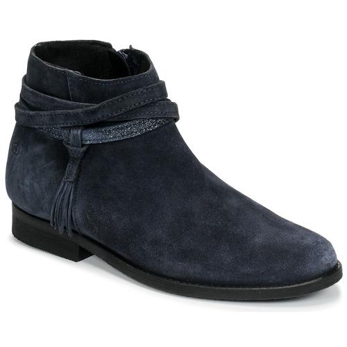 Chaussures Fille Boots Citrouille et Compagnie NIVOLET Marine