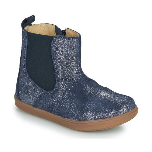 Chaussures Fille Boots Citrouille et Compagnie FEPOL Marine