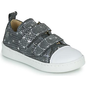 Chaussures Fille Baskets basses Citrouille et Compagnie NADIR Gris / Argenté