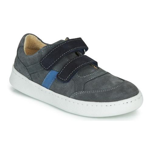 Chaussures Garçon Baskets basses Citrouille et Compagnie NESTOK Gris/marine