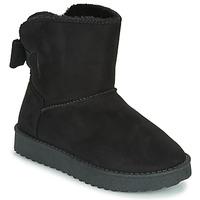 Chaussures Fille Boots Citrouille et Compagnie  NOIR