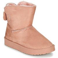 Chaussures Fille Boots Citrouille et Compagnie  ROSE