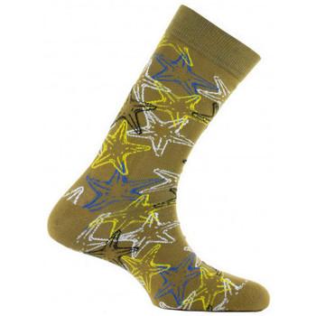 Accessoires Chaussettes Achile Mi-chaussettes Mixtes Etoiles de mer en coton Bronze