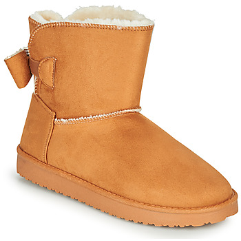 Chaussures Femme Boots Moony Mood NOWER Camel