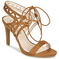 Chaussures Femme Sandales et Nu-pieds Les Petites Bombes MACHA Camel
