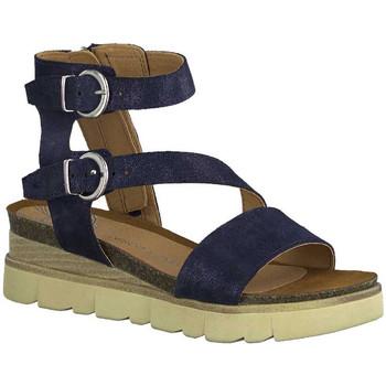 Chaussures Femme Sandales et Nu-pieds Marco Tozzi 28528-24 Bleu