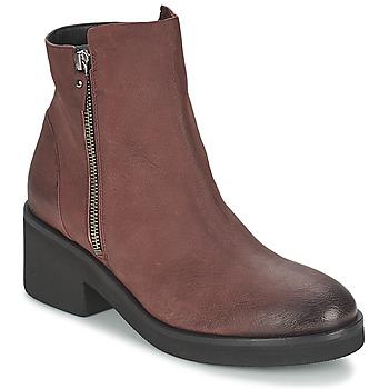 Bottines / Boots Vic ASCILLE Bordeaux 350x350