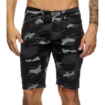 Vêtements Homme Shorts / Bermudas Kc 1981 Bermuda homme camouflage Bermuda 4036 noir Noir