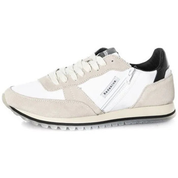 Chaussures Homme Baskets mode Chaussures Redskins ILIAS BLANC NOIR Blanc