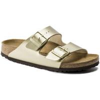 Chaussures Femme Mules Birkenstock Arizona bf Doré