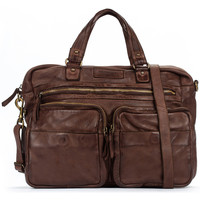 Sacs Homme Porte-Documents / Serviettes Pikolinos Sac en cuir MHA BROWN